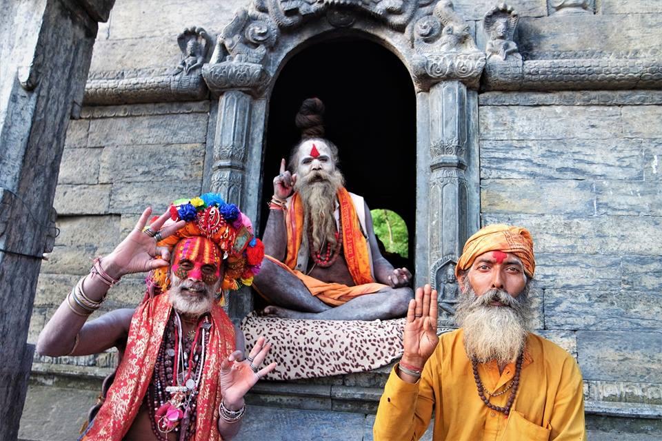 Hombres Santos, valle de Katmandú guía de viaje