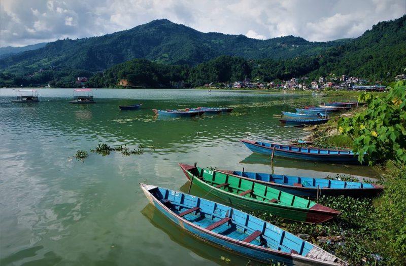 Qué ver en Pokhara, lago Phewa Tal