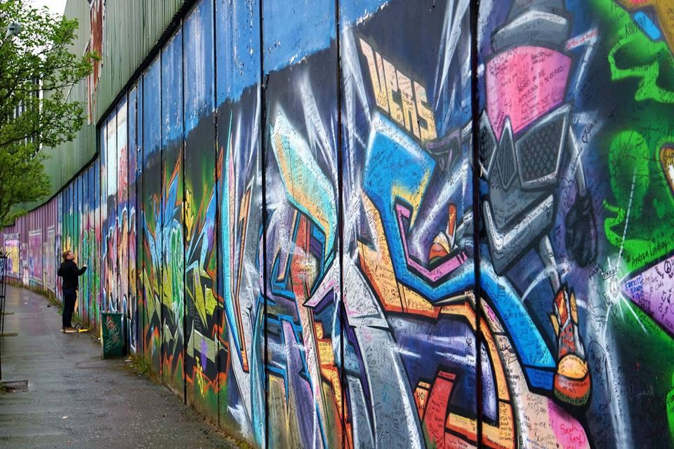 Qué ver en Belfast, ruta de los murales de Belfast, Irlanda del norte