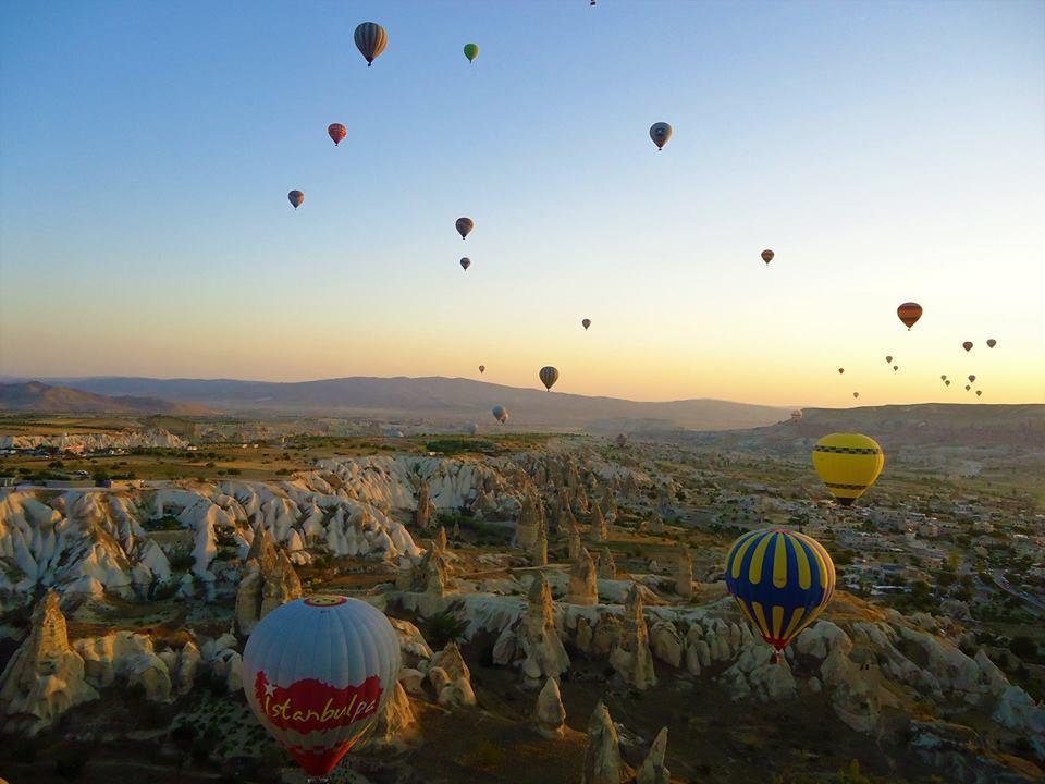Volar en globo, qué ver en la Capadocia