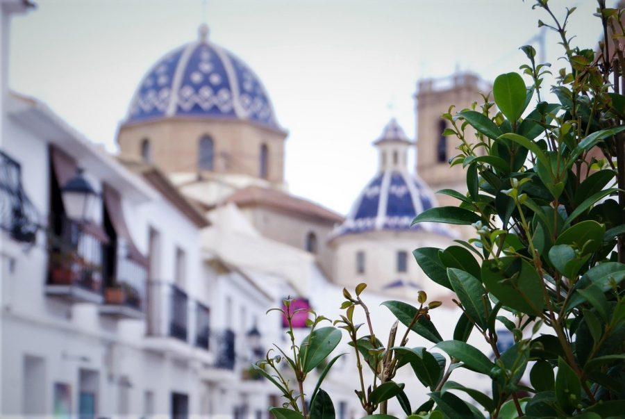 Las cúpulas azules de Altea, pueblos bonitos que ver en Alicante