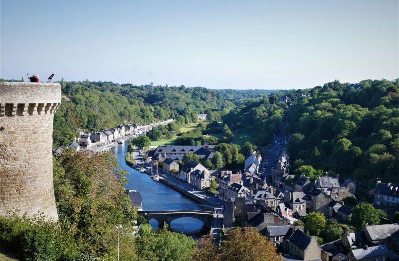 Vistas de Dinan, ruta por la Bretaña francesa en coche