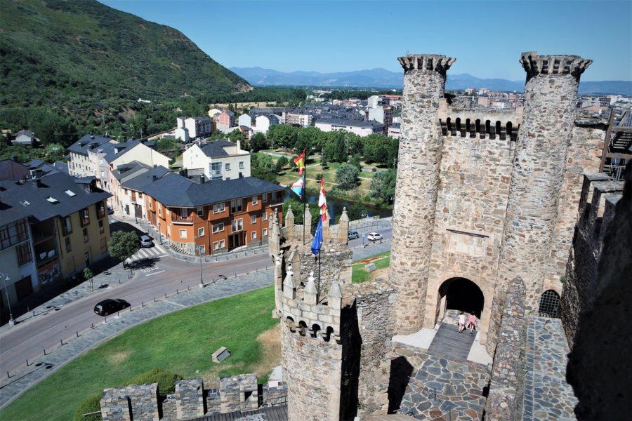 El castillo de Ponferrada, Patrimonio de León