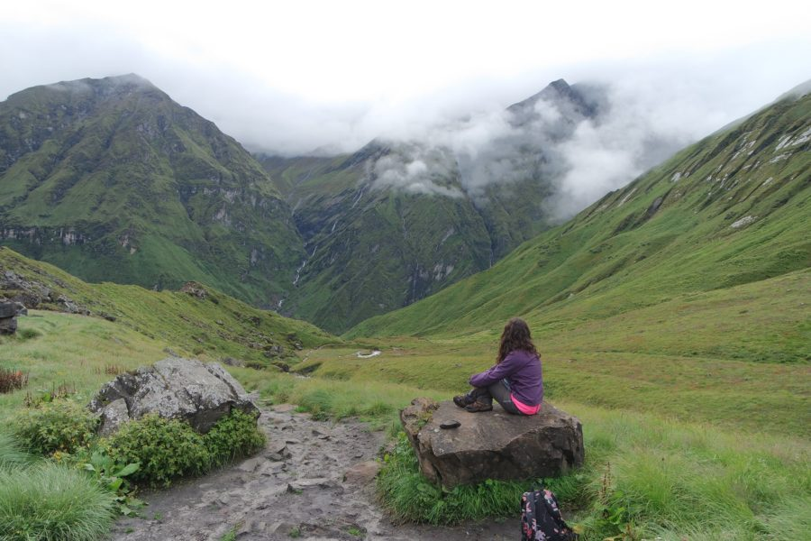 Entre montañas, seguro para viajar a Nepal