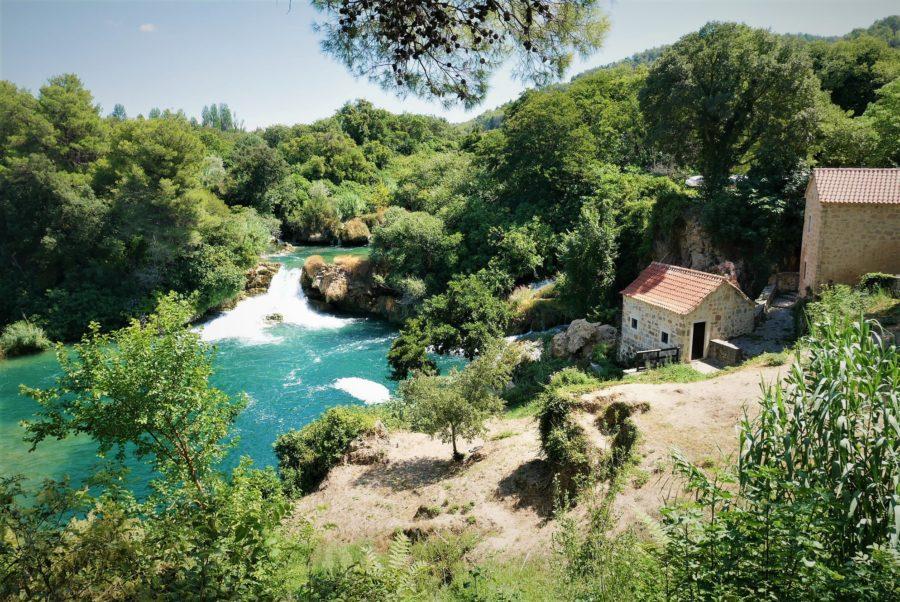 El Parque Nacional de Krka, razones para viajar a Croacia