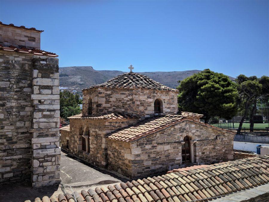 Panagia Ekatontapiliani, qué ver en Parikia, Paros