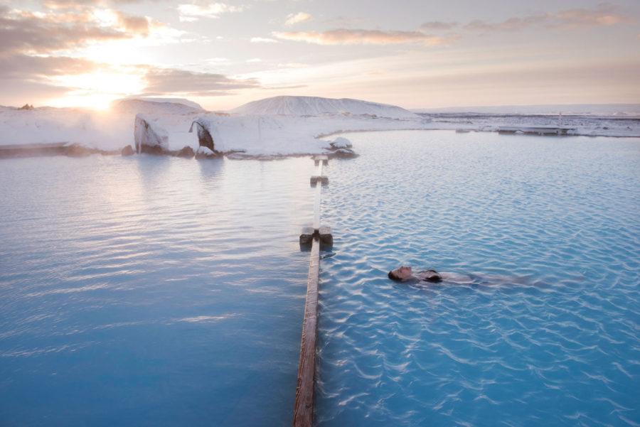 Termas naturales de Mývatn, piscinas termales de Islandia, Blog de viaje